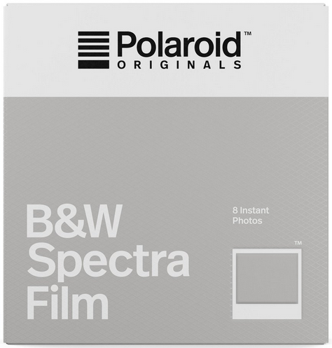 Wkład Polaroid Originals Spectra BW od Polaroid Originals (dawniej Impossible Project), zamiennik dla oryginalnych wkładów produkowanych kiedyś na innej recepturze.png